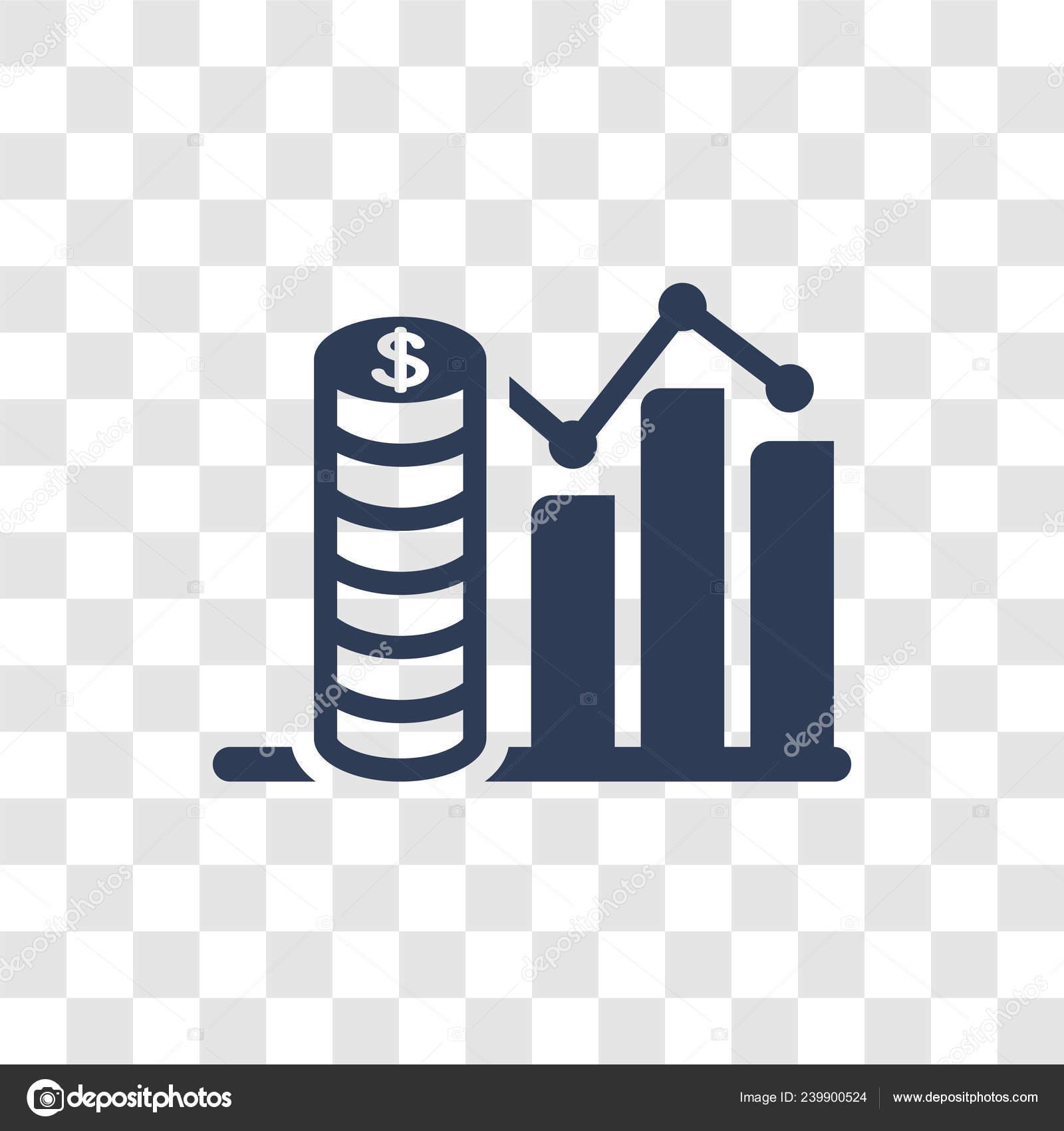 Budget Diagram Icon Trendy Budget Diagram Logo Concept