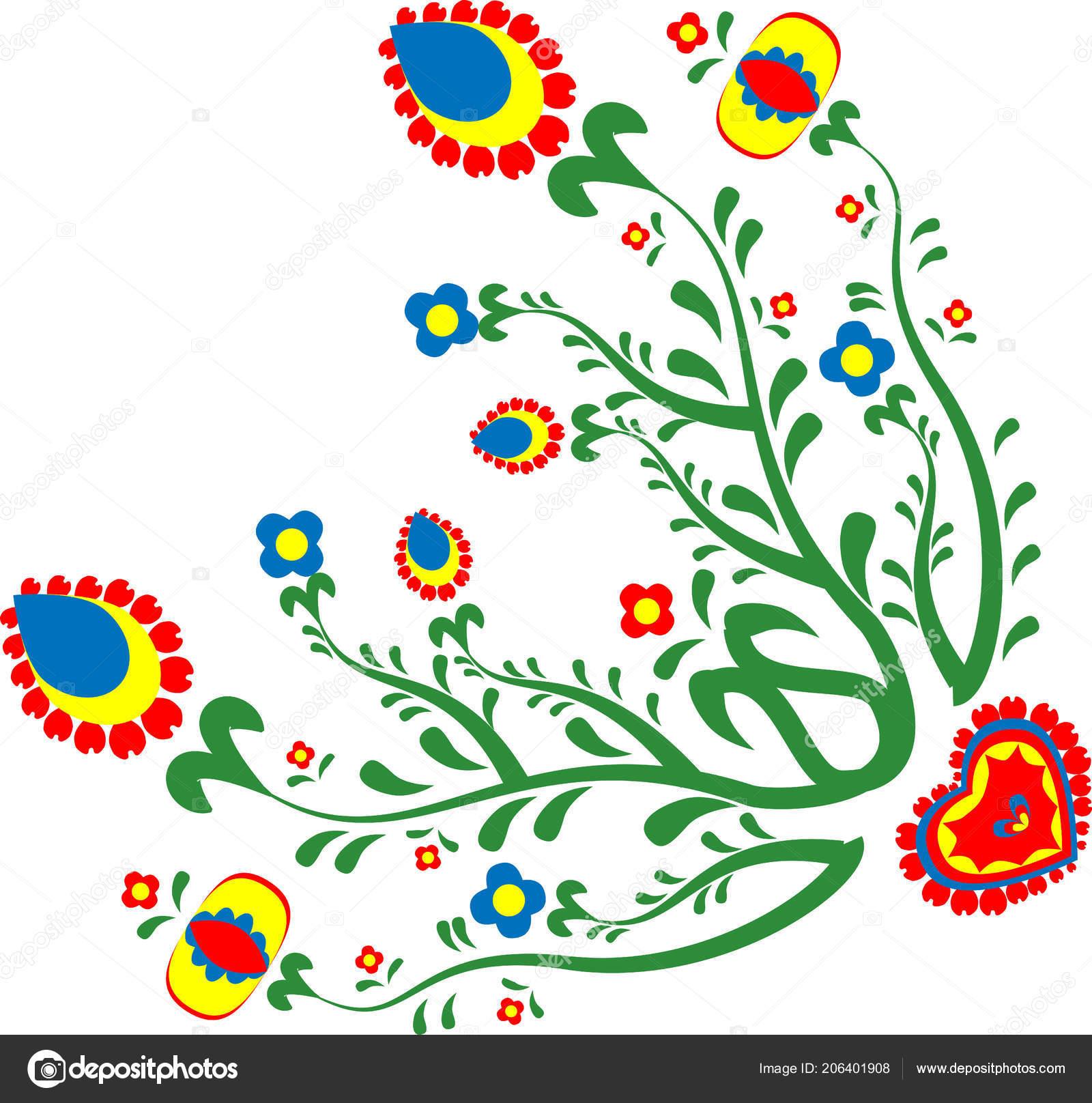 Motivos Del Folclore Las Flores Motivos Checo Folclore Flores ...