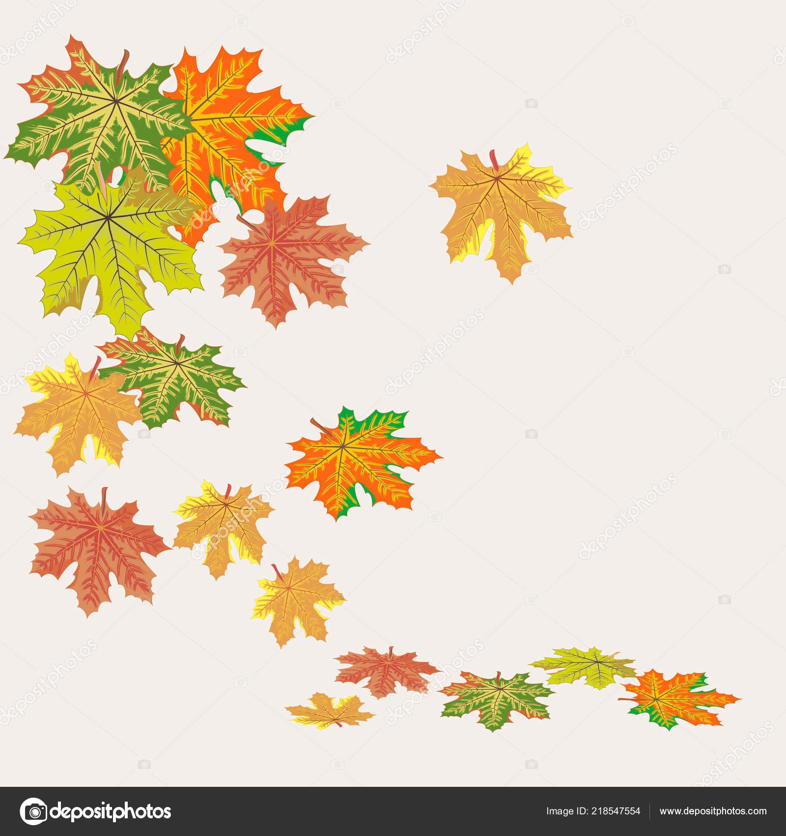Blätterfall