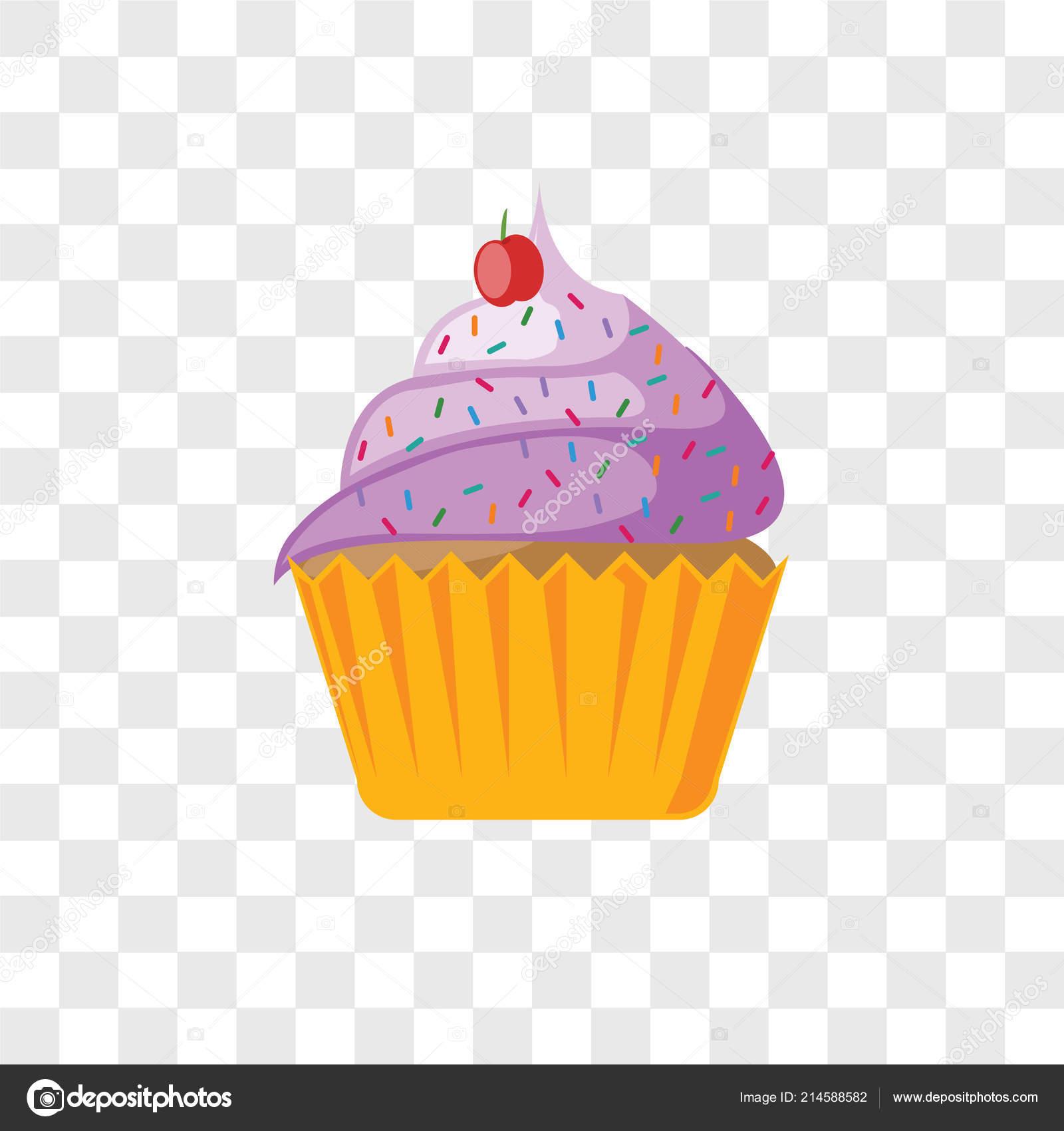cupcake vector icon isolated transparent background cupcake logo concept stock vector c tvectoricons 214588582 https depositphotos com 214588582 stock illustration cupcake vector icon isolated transparent html