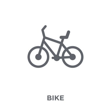 Bike icon. Bike design concept from  collection. Simple element vector illustration on white background.