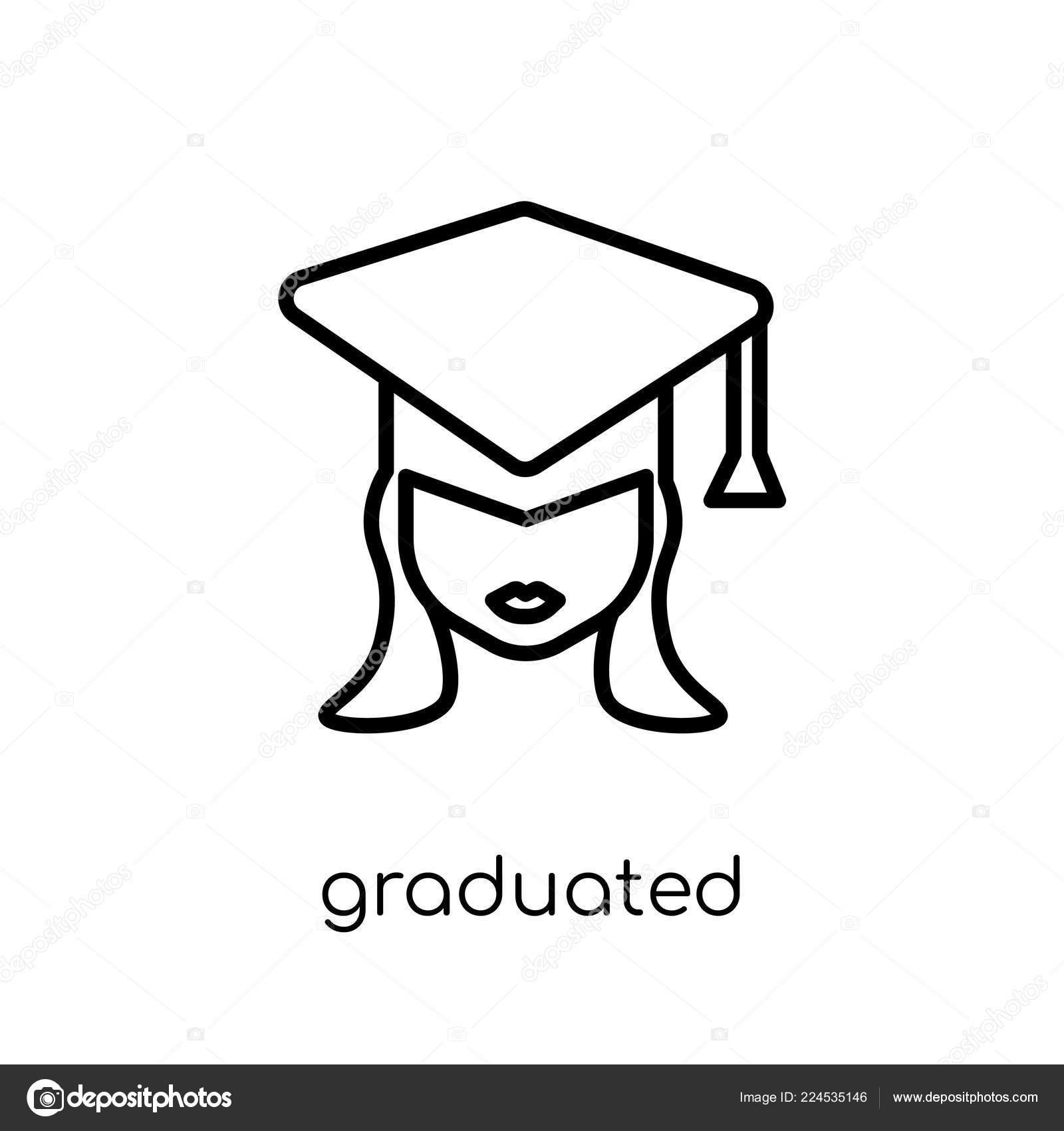 7662ad813 Símbolo Graduado Moda Moderna Vector Plano Linear Graduado Icono Fondo —  Archivo Imágenes Vectoriales