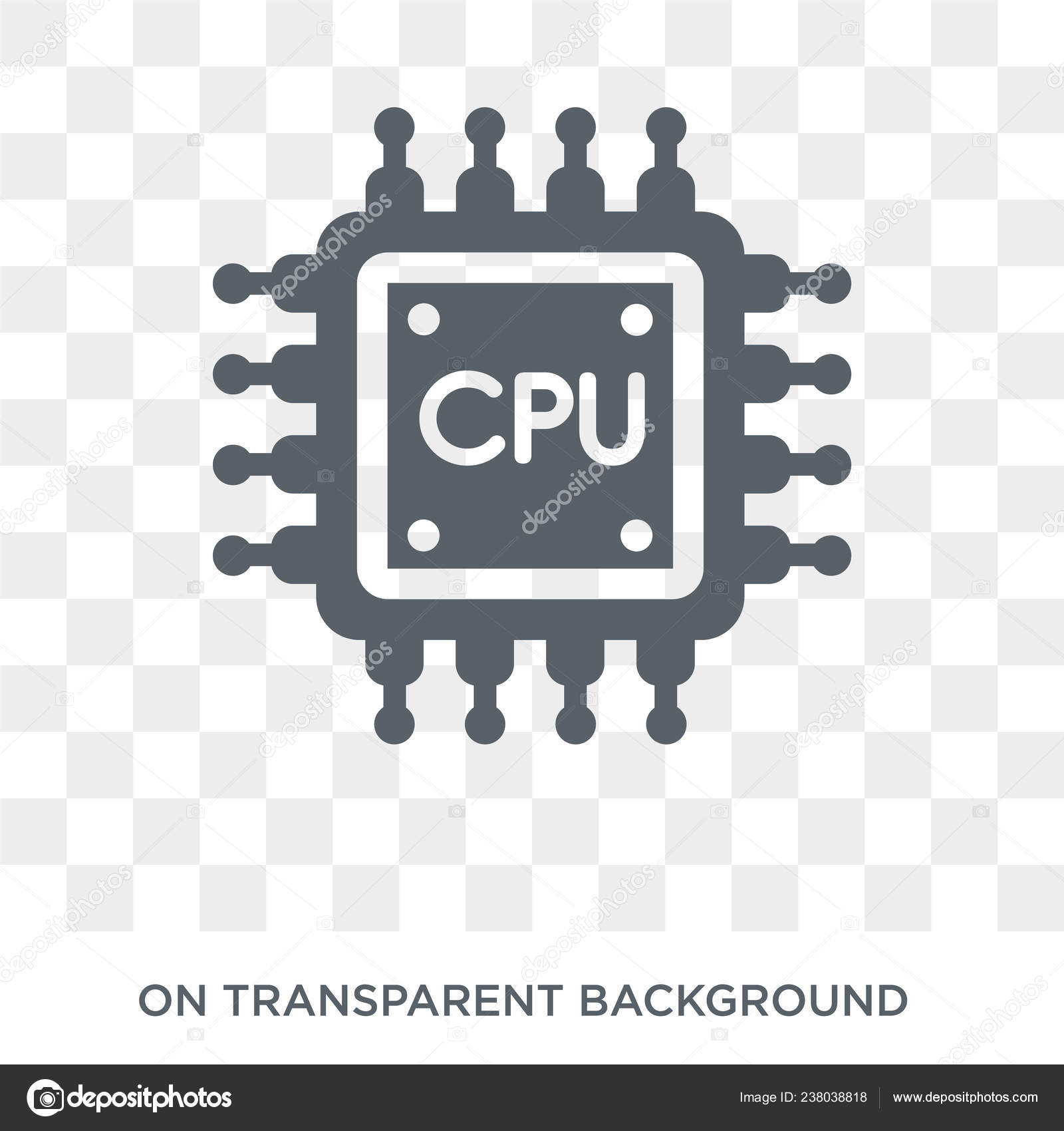 cpu icon trendy flat vector cpu icon transparent background artificial stock vector c tvectoricons 238038818 https depositphotos com 238038818 stock illustration cpu icon trendy flat vector html