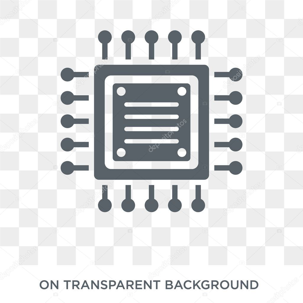 hardware icon trendy flat vector hardware icon on transparent background from programming collection high quality filled hardware symbol use for web and mobile premium vector in adobe illustrator ai ai hardware icon trendy flat vector