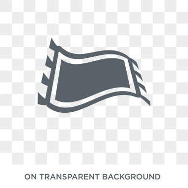 Rugs icon. Rugs design concept from Furniture and household collection. Simple element vector illustration on transparent background.