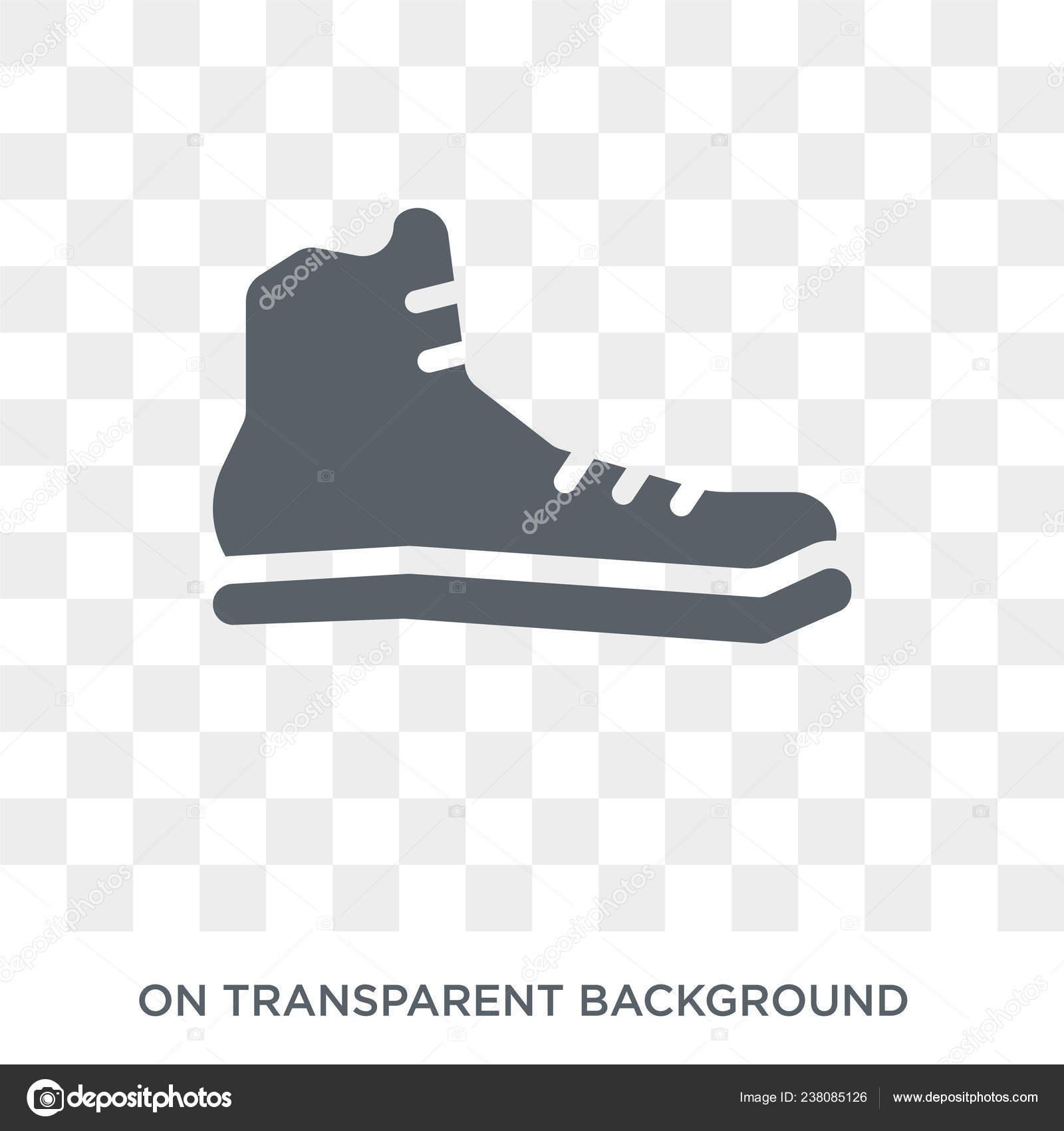 8dd00a238 Icono Zapatilla Deporte Concepto Diseño Zapatillas Colección ...