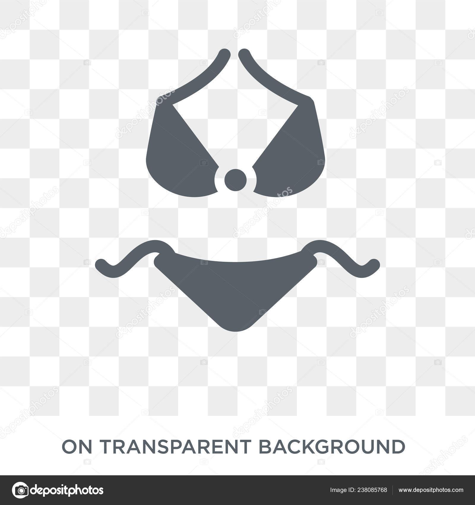 9330f8904a6d Icono Bikini Concepto Diseño Bikini Colección Ilustración Vector ...