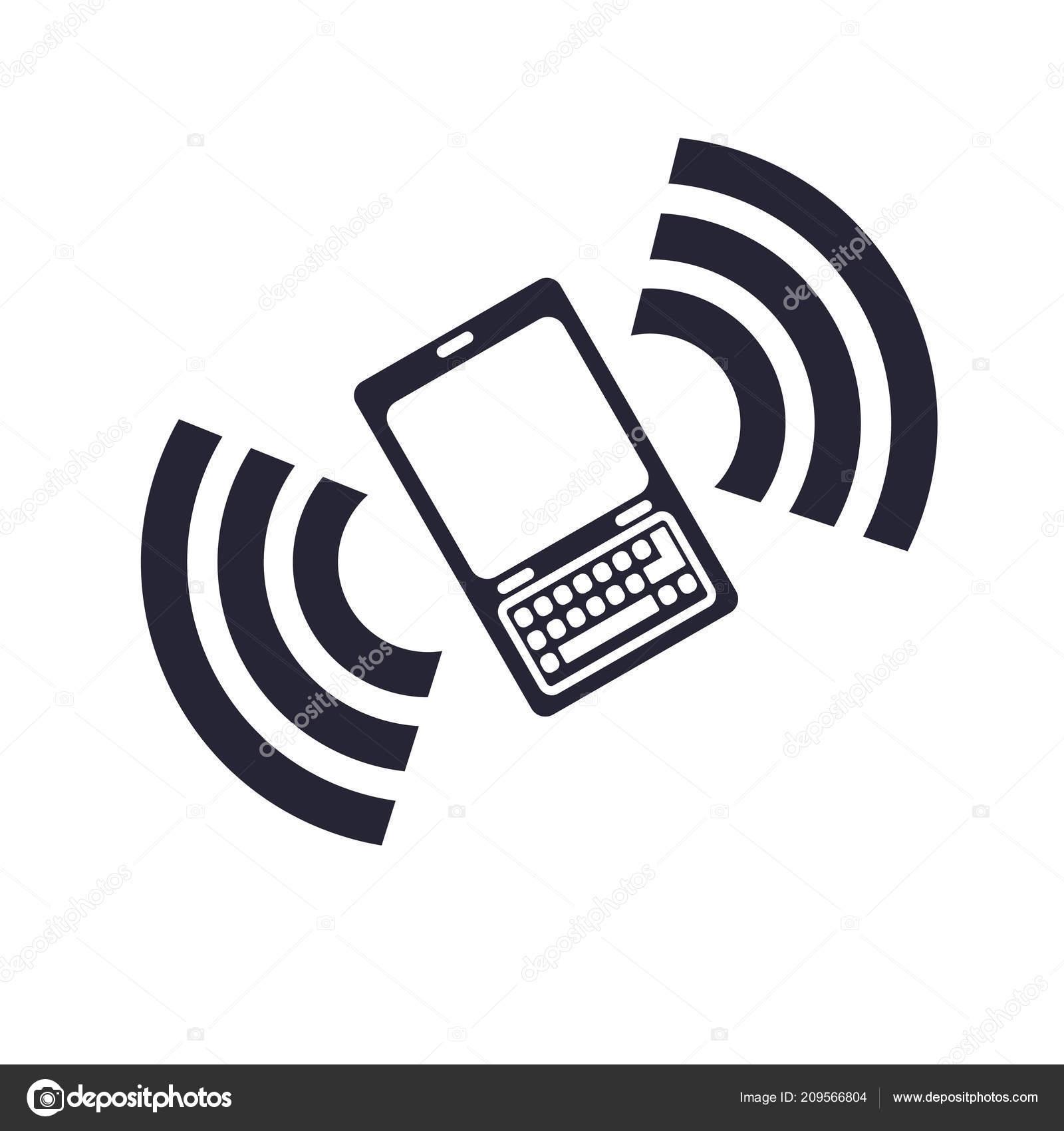 Icona Chiamata Telefono Vettoriale Isolato Sfondo Bianco Web Mobile