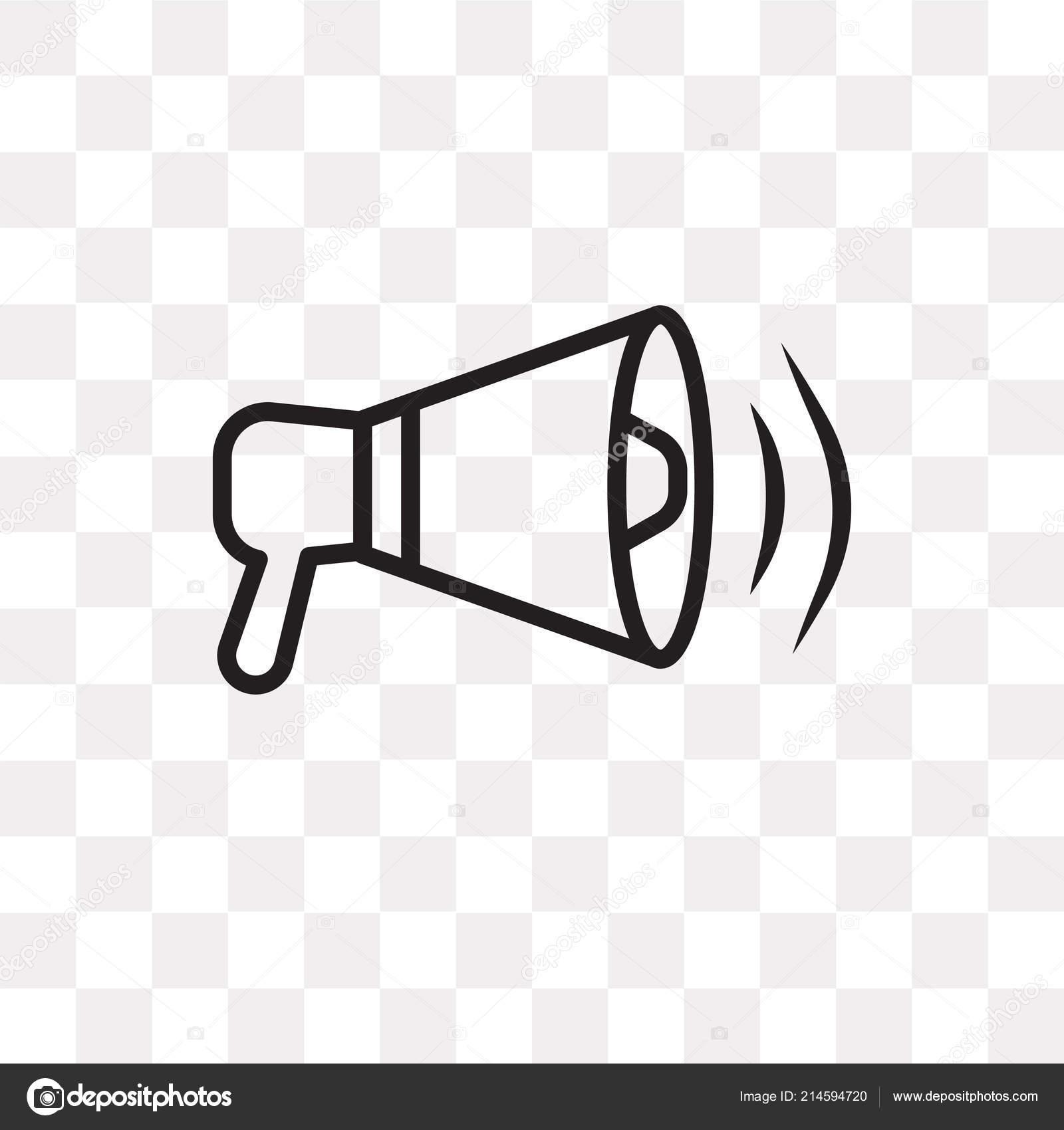 loudspeaker vector icon isolated transparent background loudspeaker logo concept stock vector c mmvector 214594720 https depositphotos com 214594720 stock illustration loudspeaker vector icon isolated transparent html