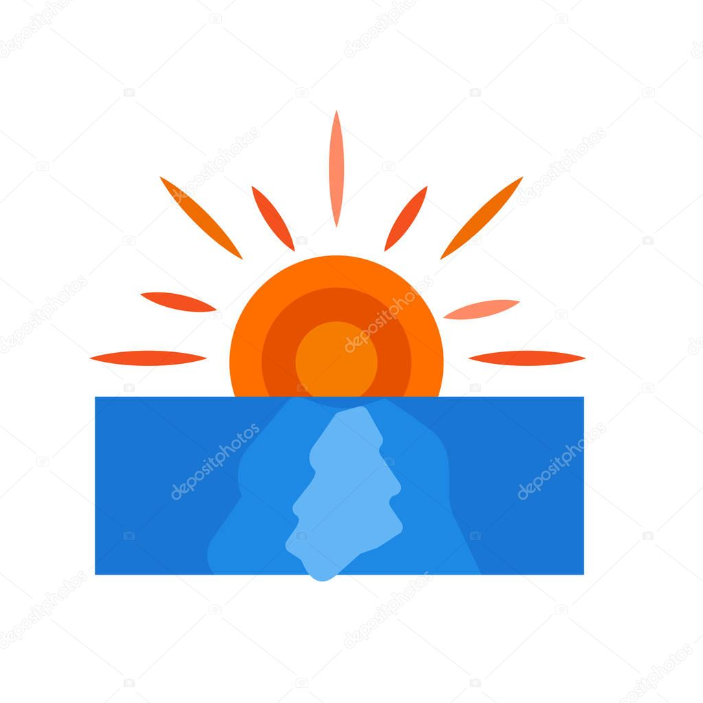 sunset icon vector isolated on white background sunset transparent sign weather symbols premium vector in adobe illustrator ai ai format encapsulated postscript eps eps format sunset icon vector isolated on white
