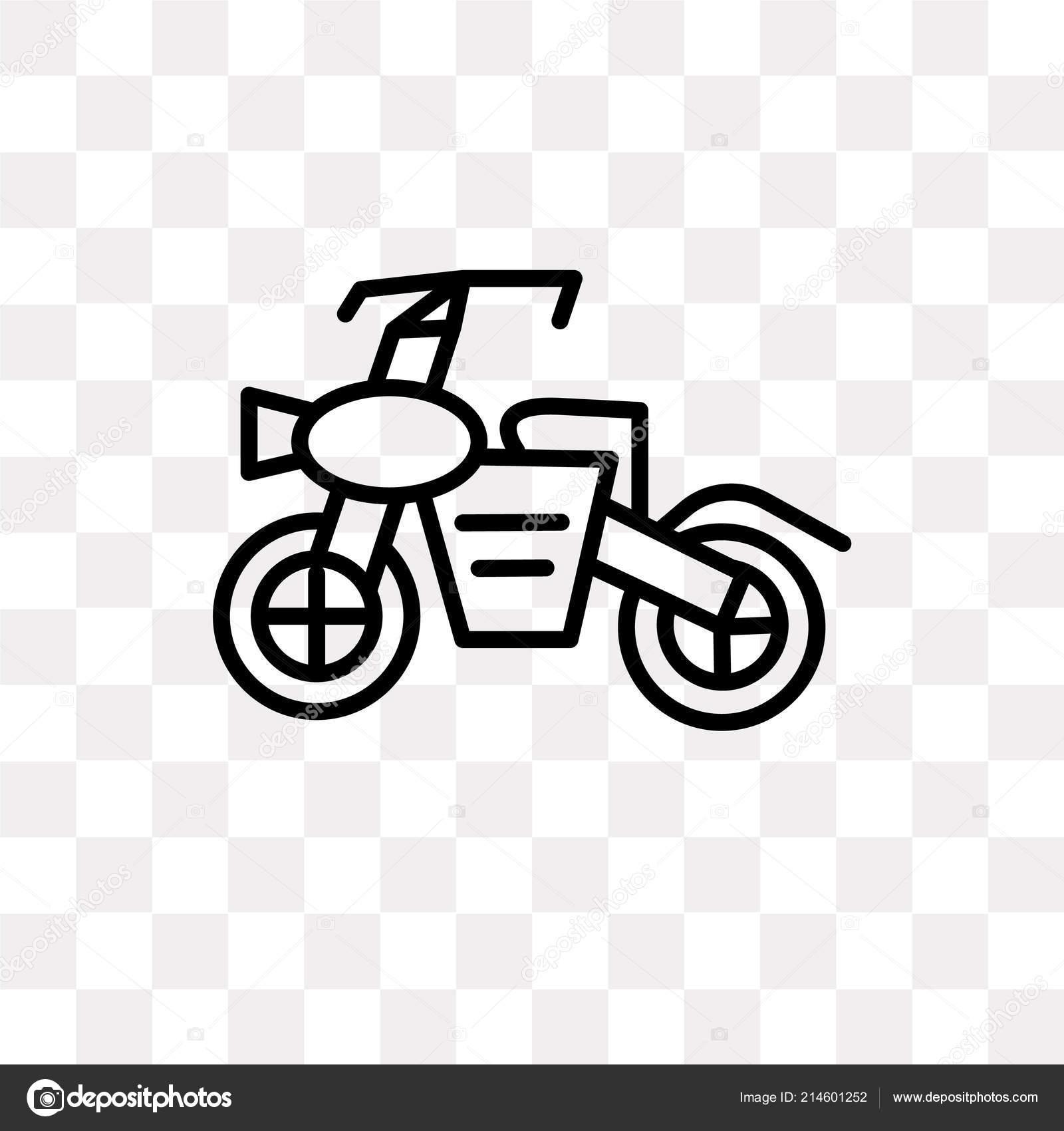 Vettore Motocross Disegno Icona Di Vettore Di Motocross