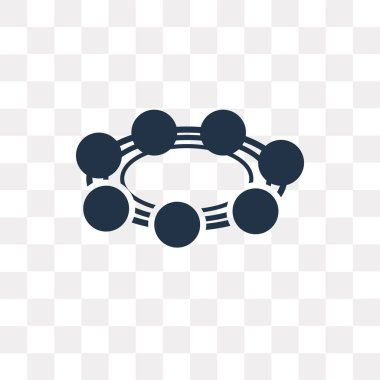 Bead vector icon isolated on transparent background, Bead transparency concept can be used web and mobile
