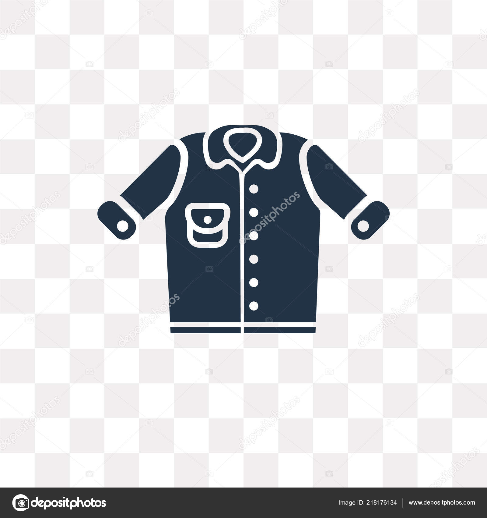 Background Denim Jacket Transparent Denim Jacket Vector Icon Isolated Transparent Background Denim Jacket Transparency Stock Vector C Mmvector 218176134