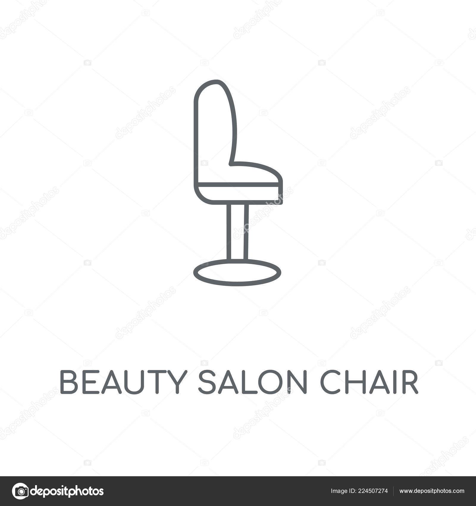 Miraculous Beauty Salon Chair Linear Icon Beauty Salon Chair Concept Home Interior And Landscaping Eliaenasavecom