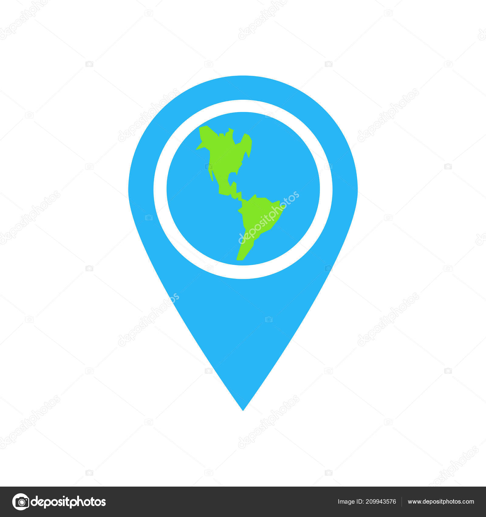 Map Icon Vector Isolated White Background Your Web Mobile