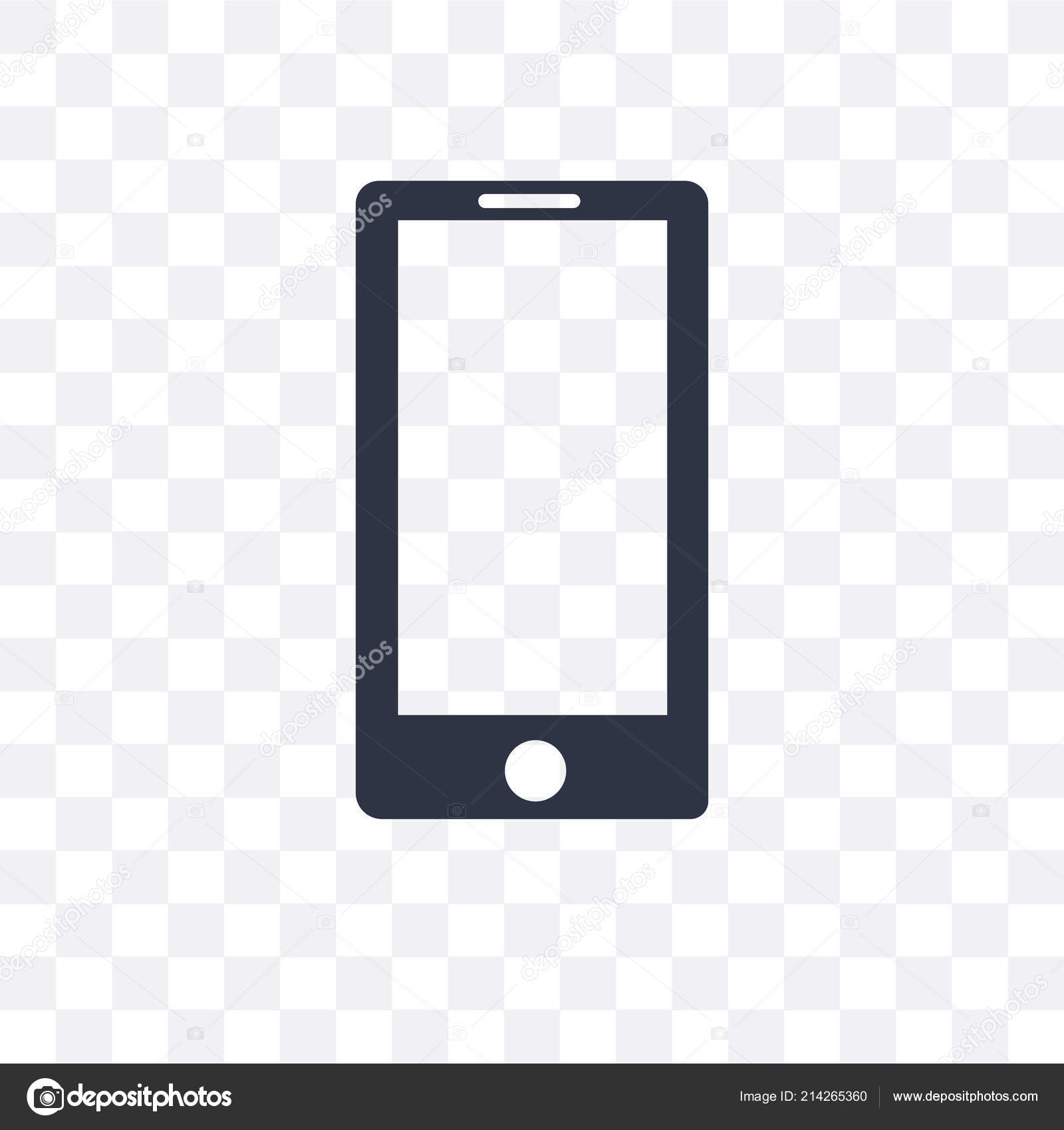 Vector Phone Png Mobile Phone Vector Icon Isolated On