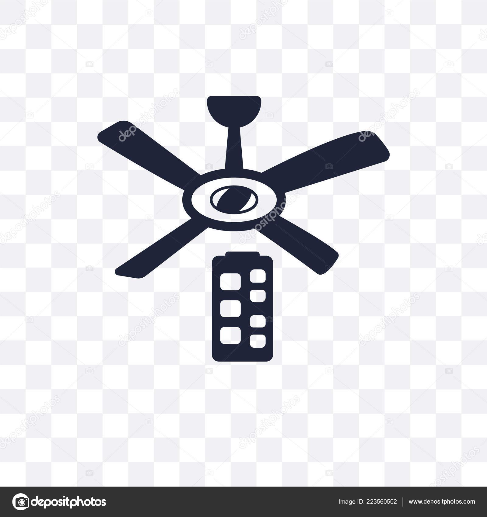 Ceiling Fan Symbol Ceiling Fan Transparent Icon Ceiling Fan Symbol Design Electronic Devices Stock Vector C Coolvectorstock 223560502