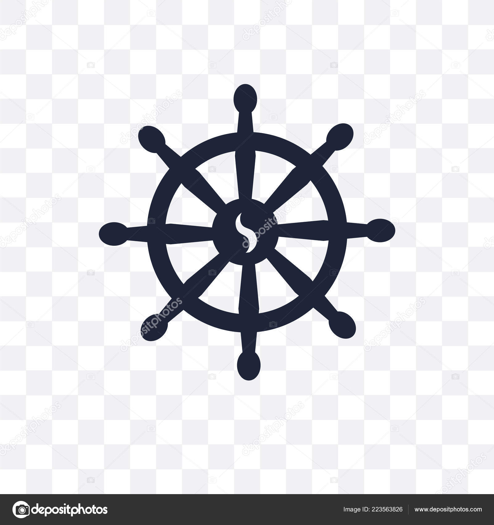 Background: buddhism symbol transparent | Buddhism