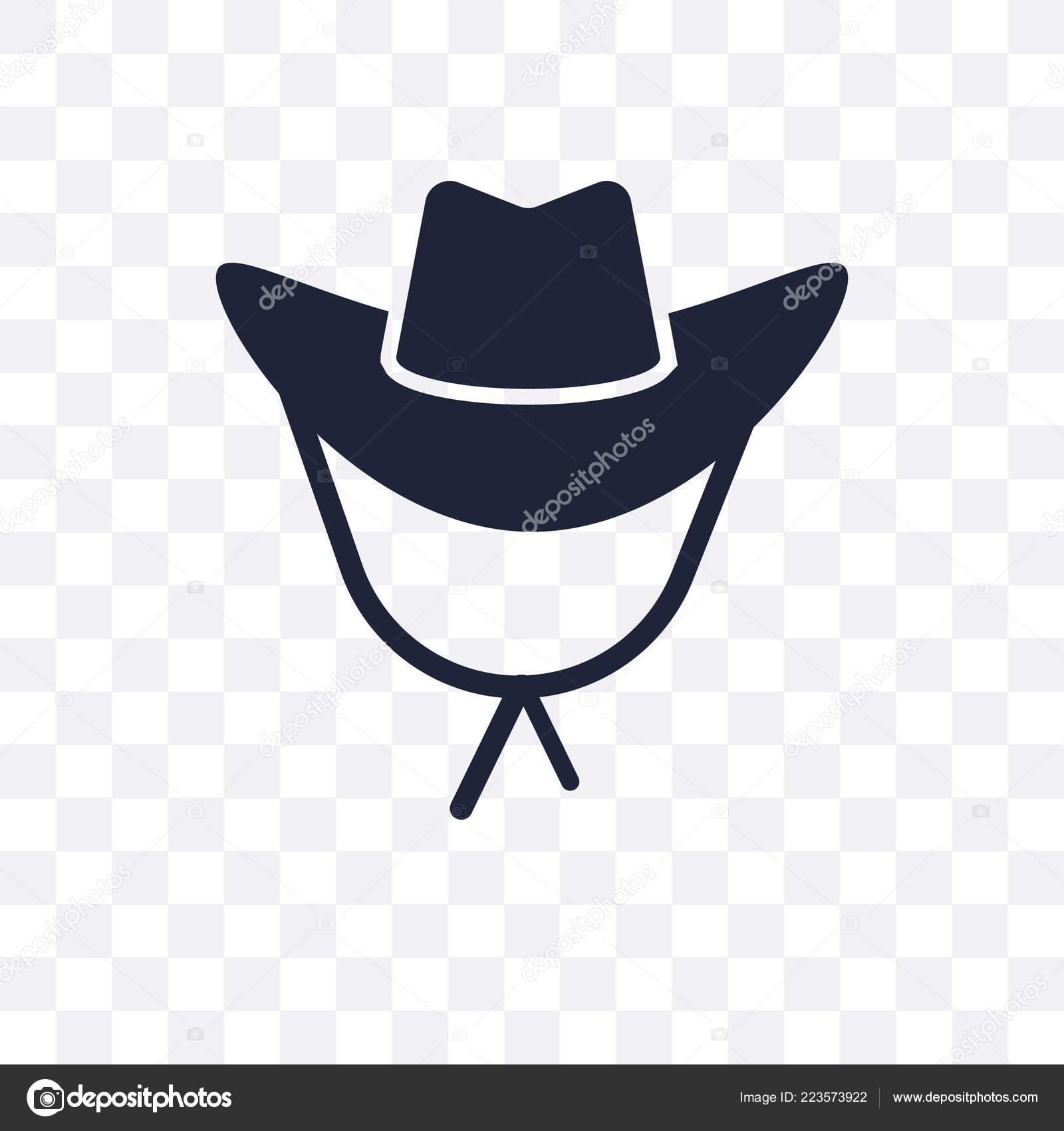 bf8fe9c5180a0 Cowboy Hat Transparent Icon Cowboy Hat Symbol Design Desert Collection–  stock illustration