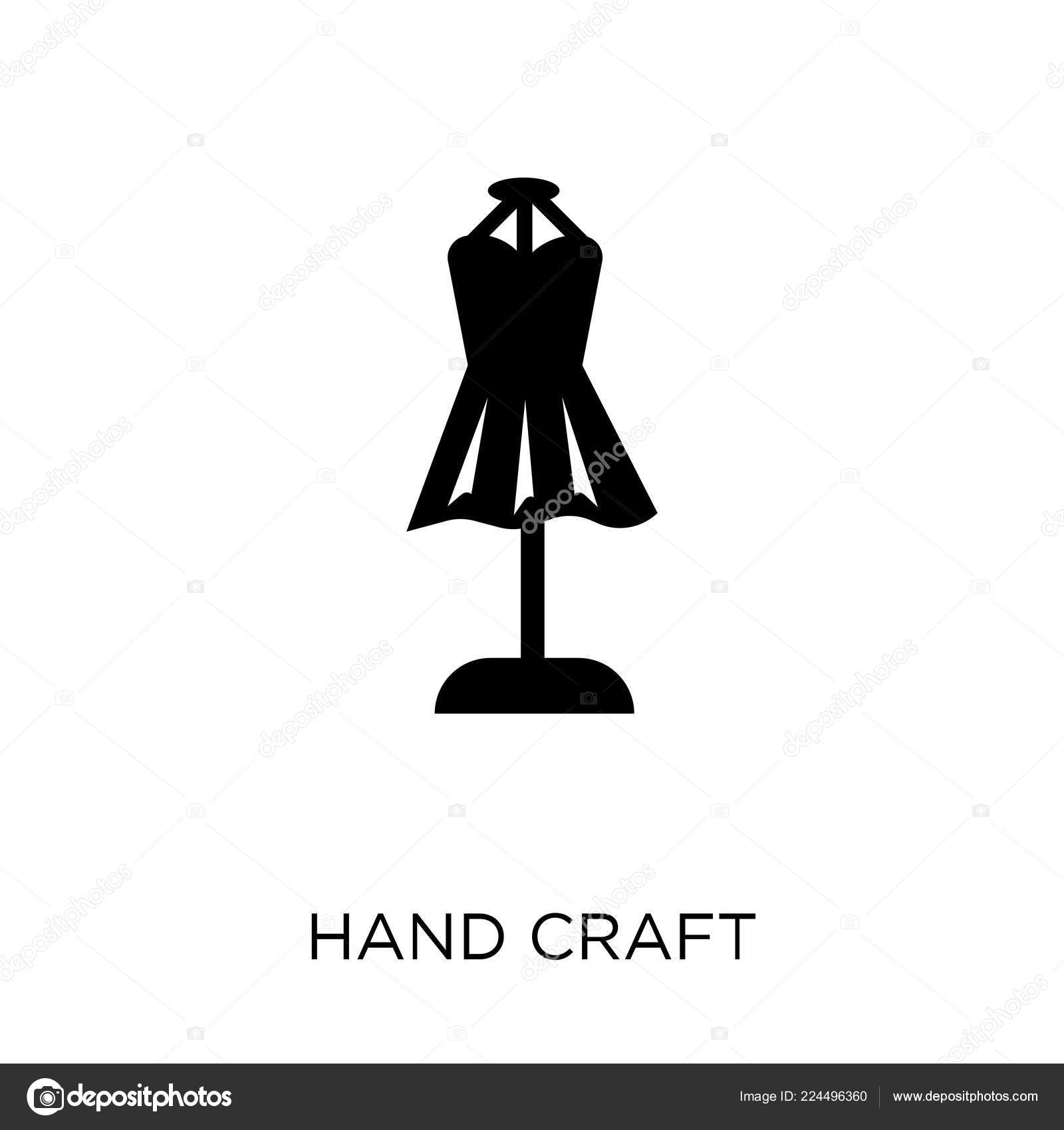 Hand Craft Icon Hand Craft Symbol Design Sew Collection Simple