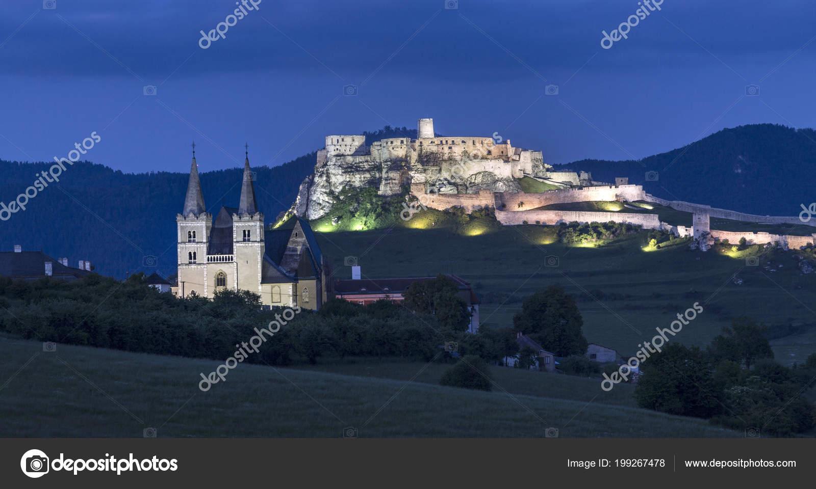 Spisske Podhradie Town Spis Castle Spissky Hrad Presov