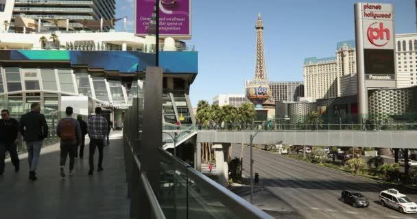 Slavný bulvár Las Vegas v Nevadě USA