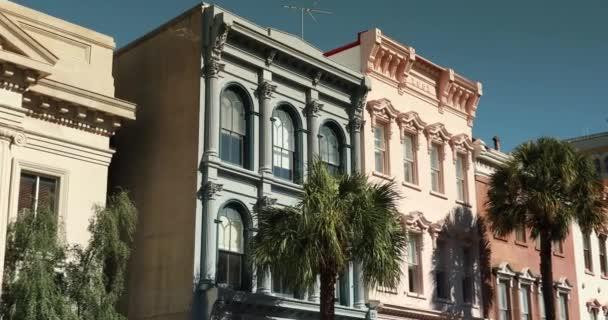 Charleston Jižní Karolína v centru obchodní čtvrti