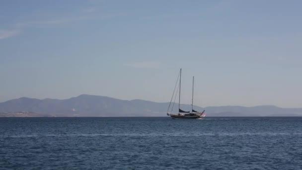 A nyílt tengeri vitorlás Yacht