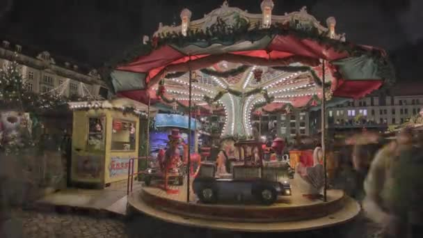 Historic German Christmas Market Striezelmarkt Dresden 4K, rare footage Striezelmarkt Dresden - Christmas Market Timelapse Germany - the oldes christmas market in germany.