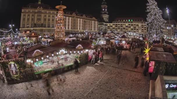 Historic German Christmas Market Striezelmarkt Dresden 4K, rare footage Striezelmarkt Dresden - Christmas Market Timelapse Germany - the oldes christmas market in germany.