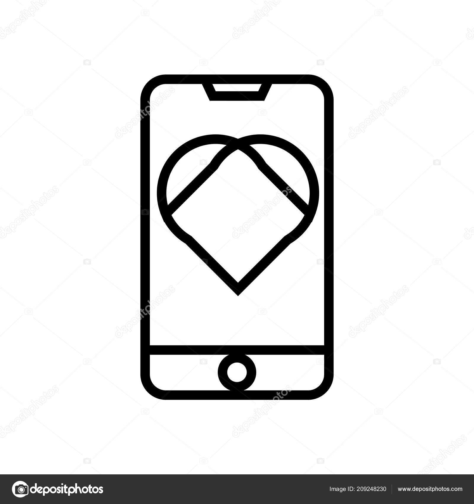 Icona Telefono Vettoriale Isolato Sfondo Bianco Vostro Web