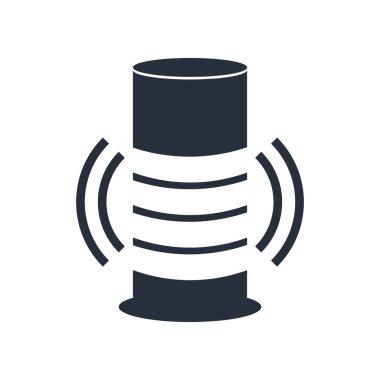 Smart Speaker icon vector isolated on white background for your web and mobile app design, Smart Speaker logo concept clip art vector