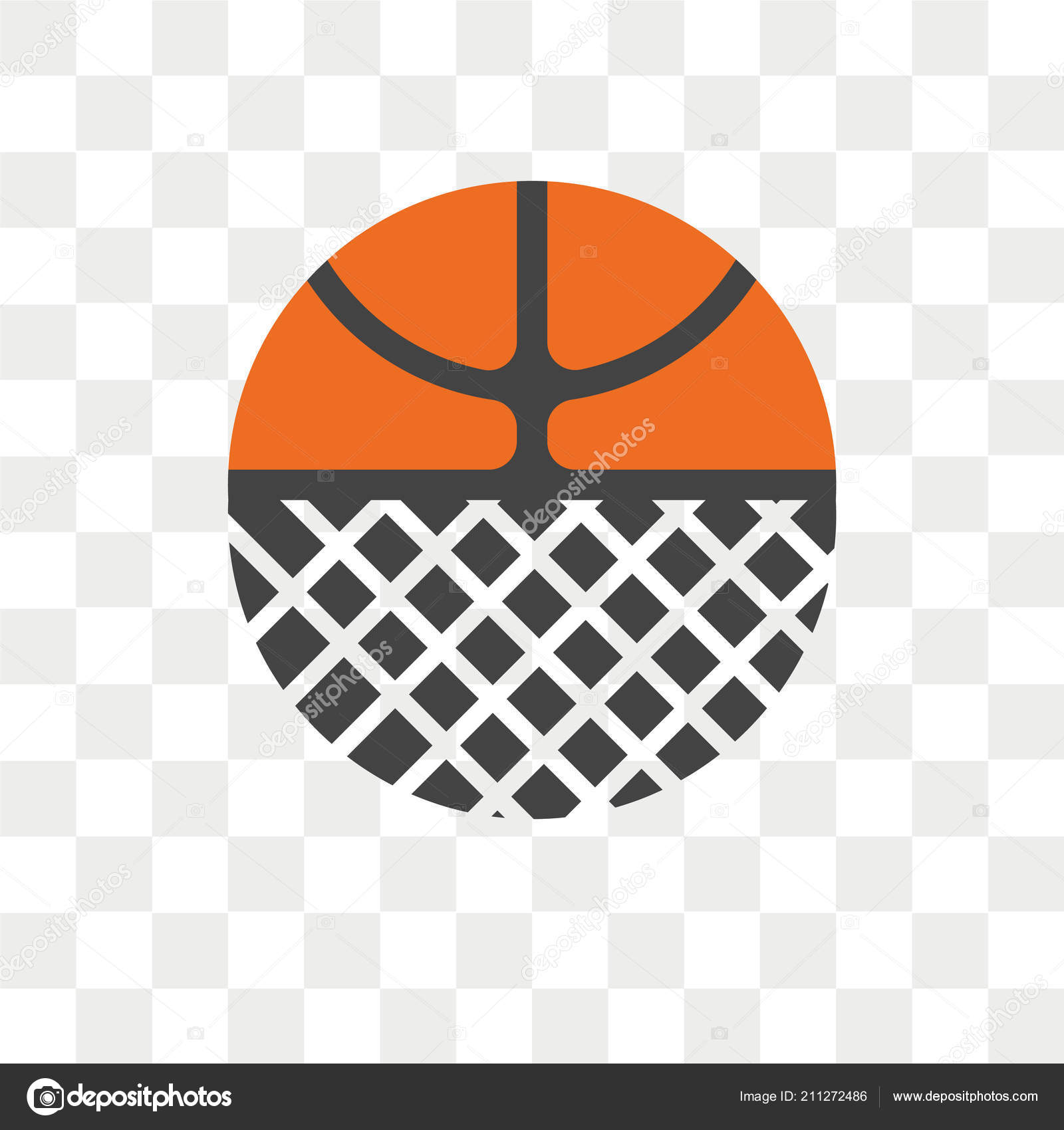 Basketball logo png | Basketball Vector Icon Isolated