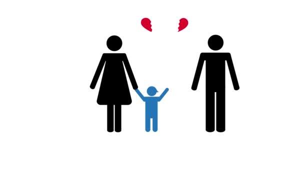 élete és kapcsolata a patchwork baba piktogram család