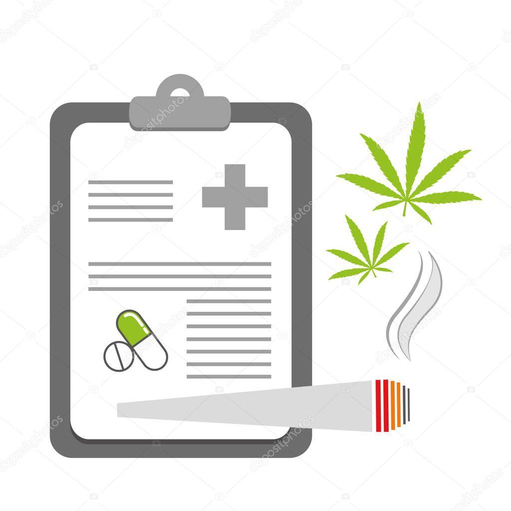 smoking cannabis on recipe joint
