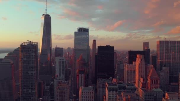 Letecký pohled na dolním Manhattanu