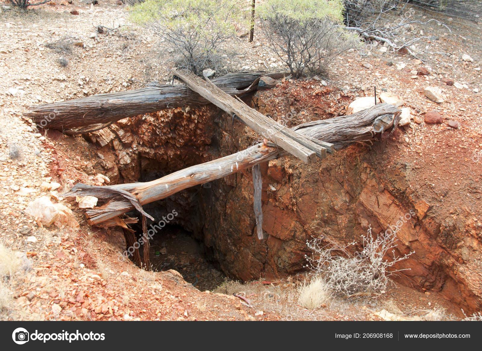 Old Abandoned Mine Shaft — Stock Photo © adwo@hotmail com #206908168