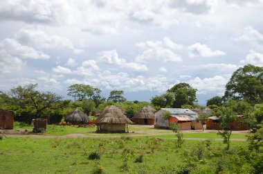 Traditional African Huts - Zambia