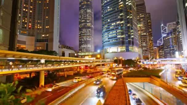 scénické záběry moderního megalopolis asijského města