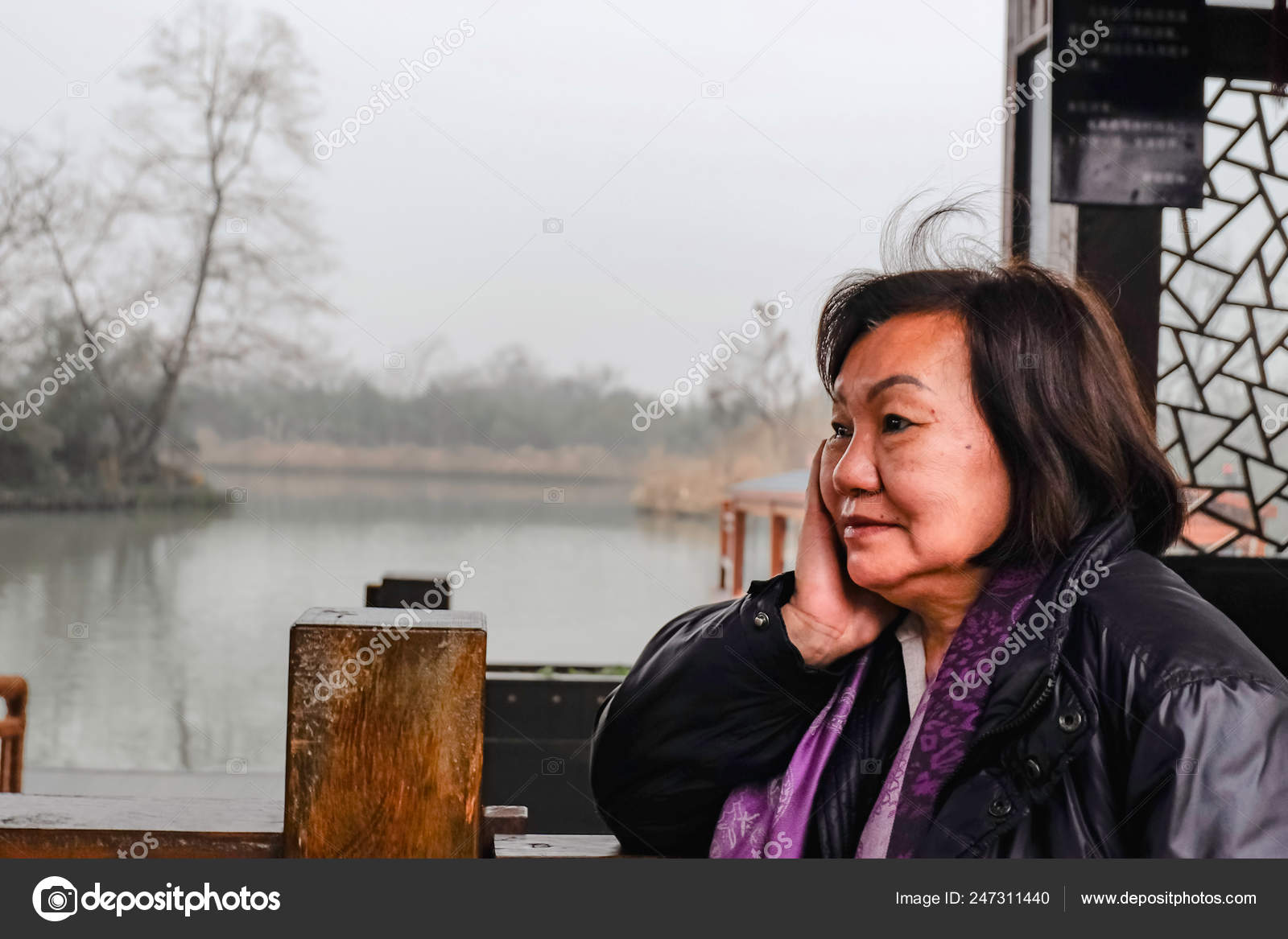 Woman old asian 94