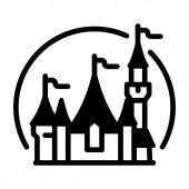 Disneyland Solid ilustrace