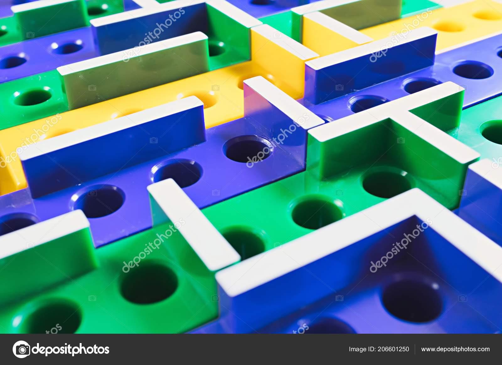 Laberinto Juego Mesa Plastico Color Foto De Stock C Tennessee