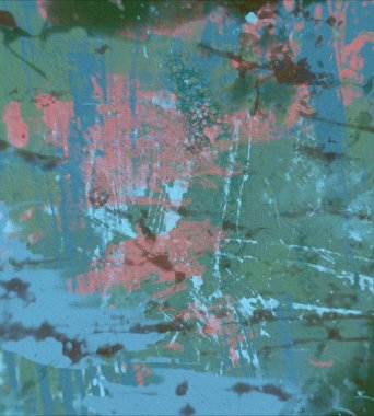 Grunge Contemporary art. Hand made art. colorful texture. Modern artwork. Strokes of fat paint. Brushstrokes. Artistic background. Abstract painting on canvas.