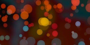 "Картина, постер, плакат, фотообои ""Абстрактный фон с боке"", артикул 284180228"