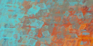 abstract grunge background with different patterns