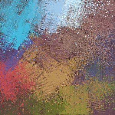 "Картина, постер, плакат, фотообои ""гранж фон с пространством для текста пейзаж натюрморт арт"", артикул 287783604"