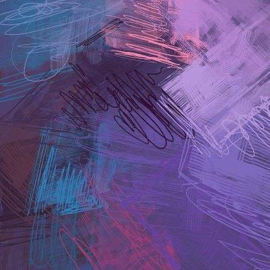 """Картина, постер, плакат, фотообои """"абстрактный гранж фон с различными узорами """", артикул 287893814"""