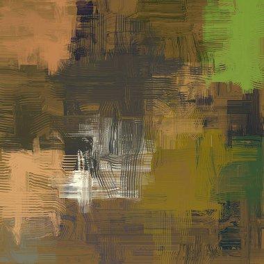 """Картина, постер, плакат, фотообои """"абстрактный гранж фон с различными цветовыми узорами пейзаж цветы все зимний москва"""", артикул 288645306"""