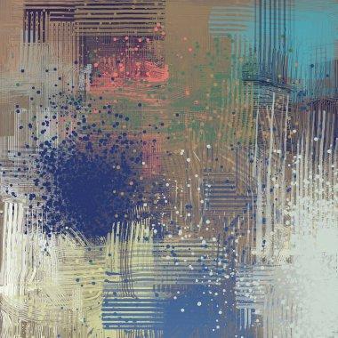 """Картина, постер, плакат, фотообои """"абстрактный гранж фон с различными цветовыми узорами"""", артикул 288650798"""