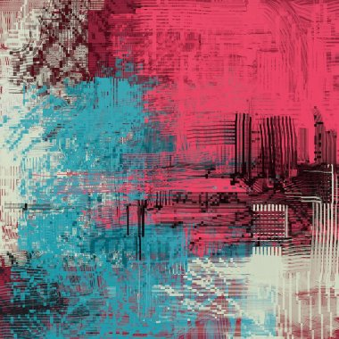 """Картина, постер, плакат, фотообои """"абстрактный гранж фон с различными цветовыми узорами картина постеры все"""", артикул 288663088"""
